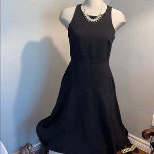 BNWT Banana Republic fit and flare petite LBD